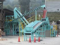 ホーワエンジニアリング?(日本製) 1軸式破砕機 HMP-1200型(2013年設置)